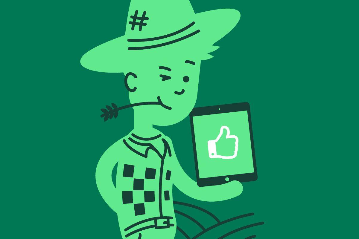 Los agricultores millennials confían en la tecnología