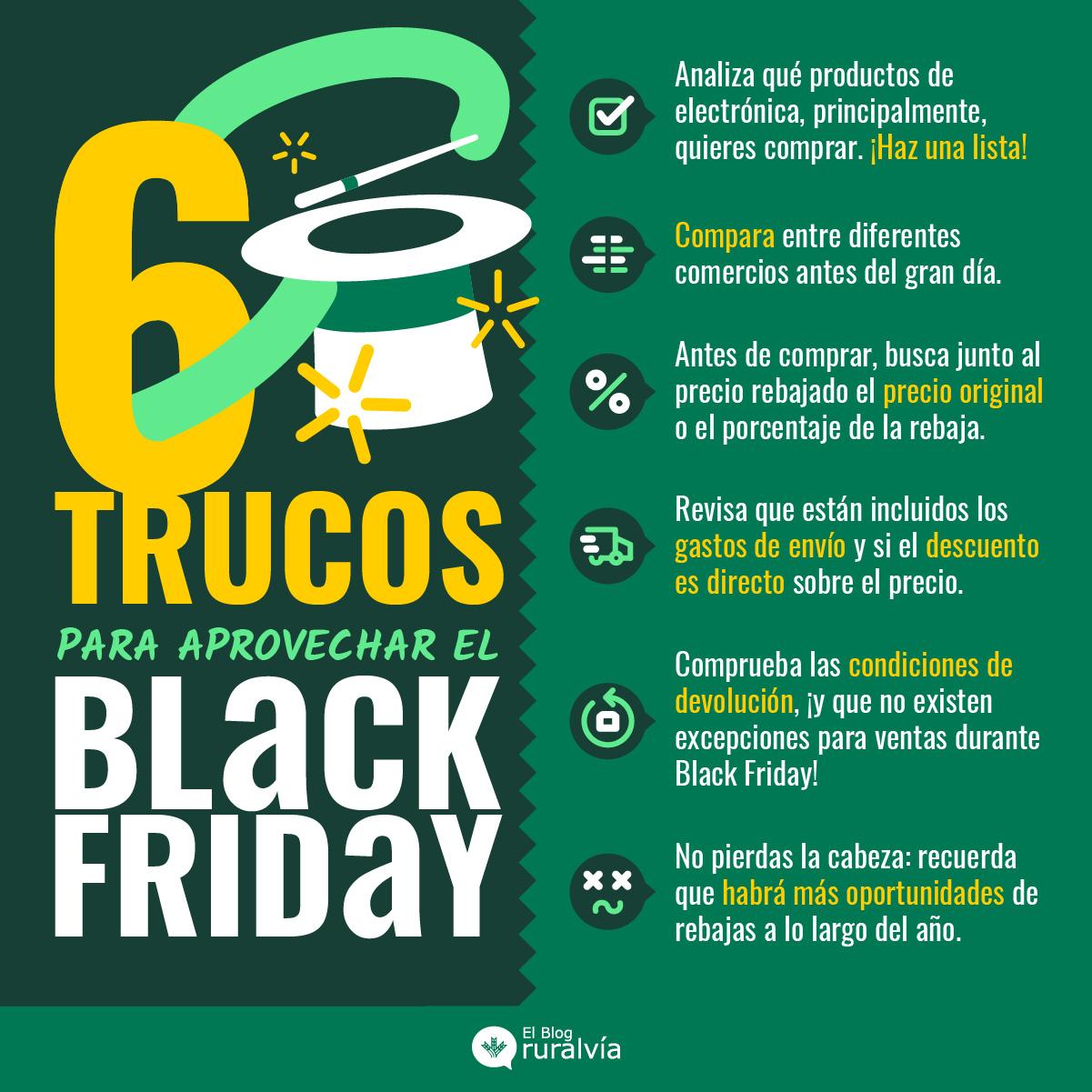 6 consejos para afrontar el black friday