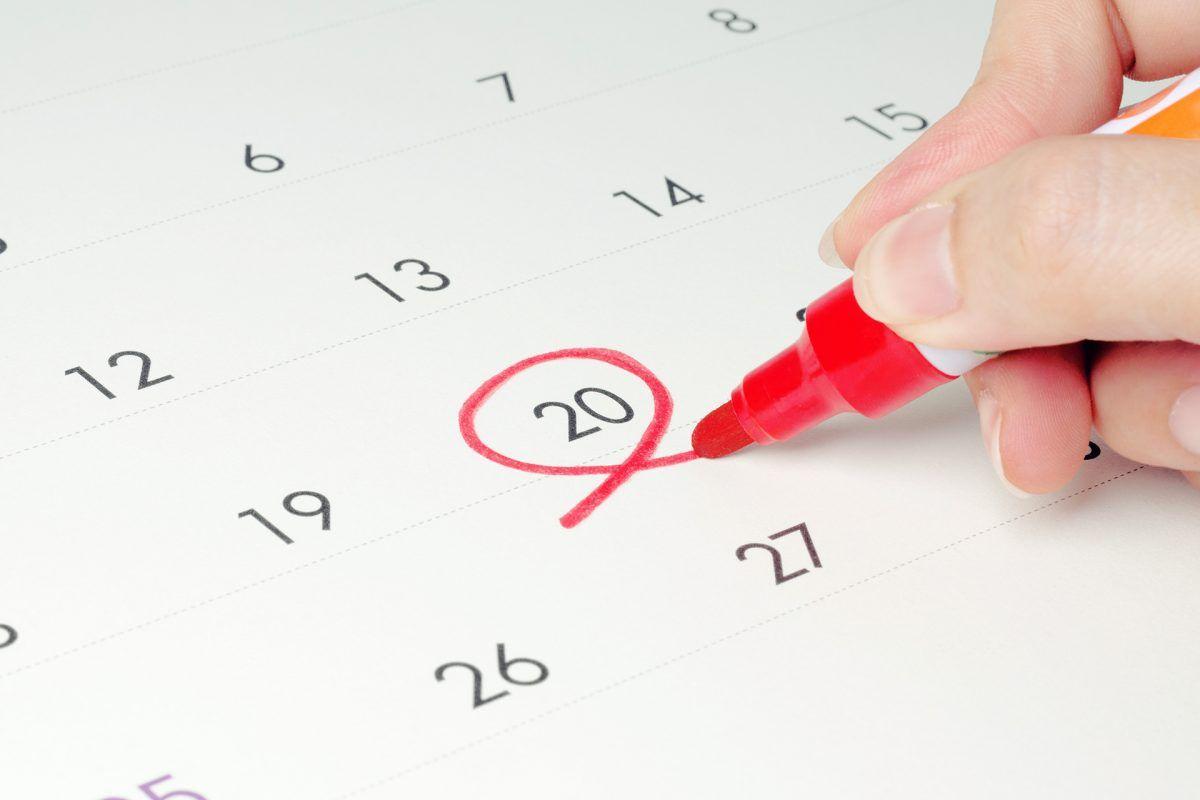 Calendario fiscal 2020: prepara tu empresa para este ejercicio fiscal