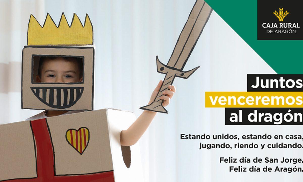 Caja Rural de Aragón se suma a la conmemoración del Día de Aragón