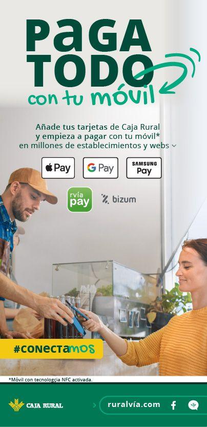 pago por móvil caja rural ruralvía banca digital