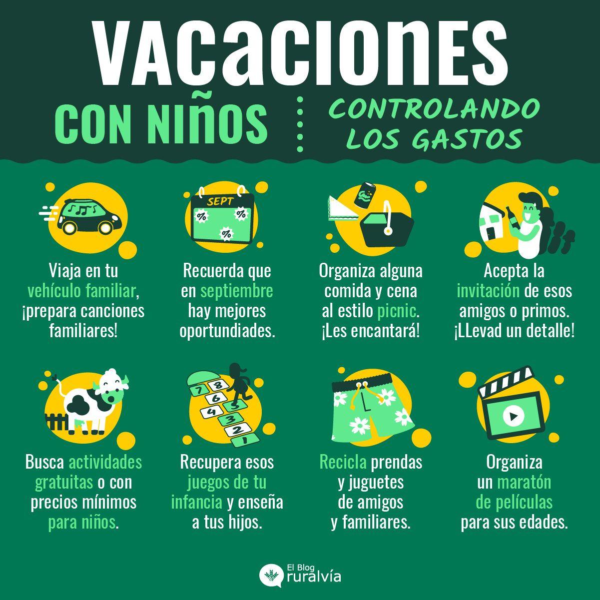 Planes económicos para disfrutar de unos días de vacaciones con niños