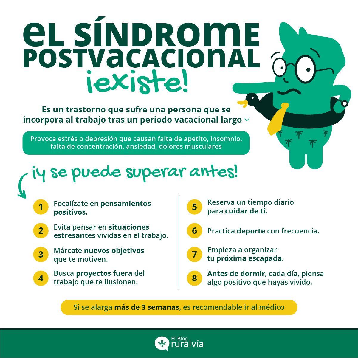 Entiende y combate el síndrome postvacacional