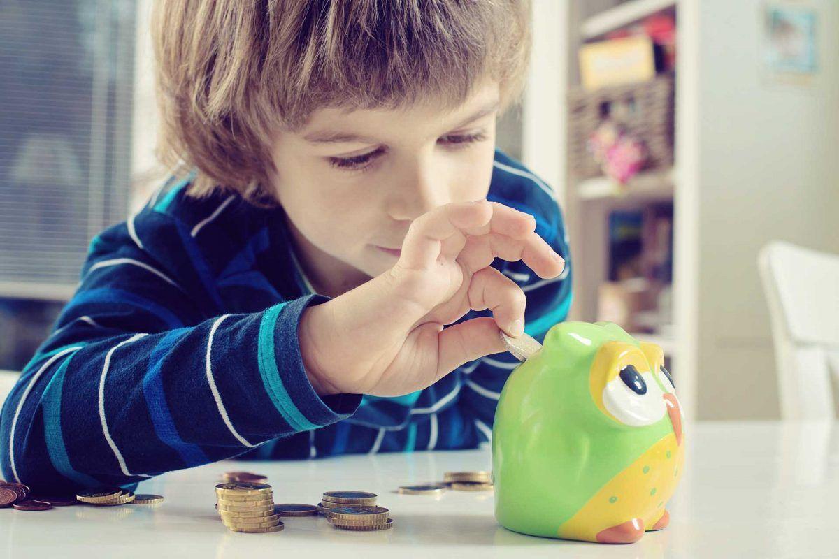 Enseña estos trucos de ahorro a tus hijos. ¡Empieza cuando son pequeños!