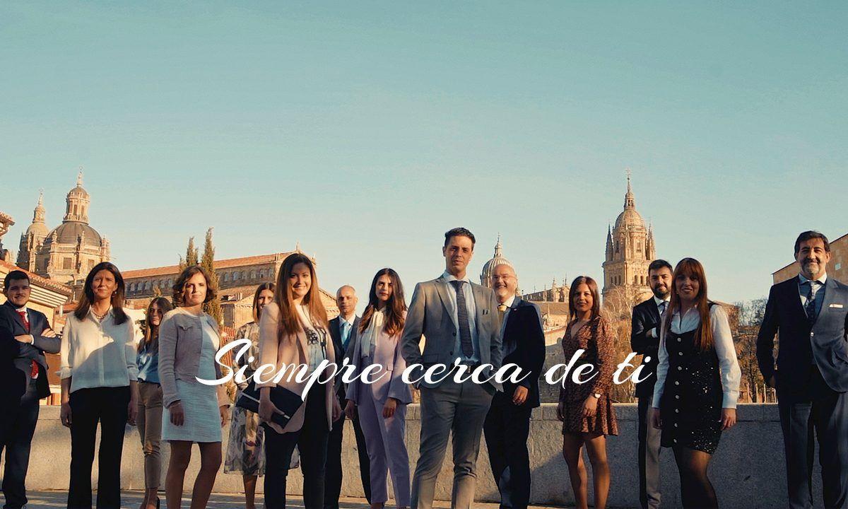 La plantilla de CR de Salamanca protagonista de su campaña publicitaria